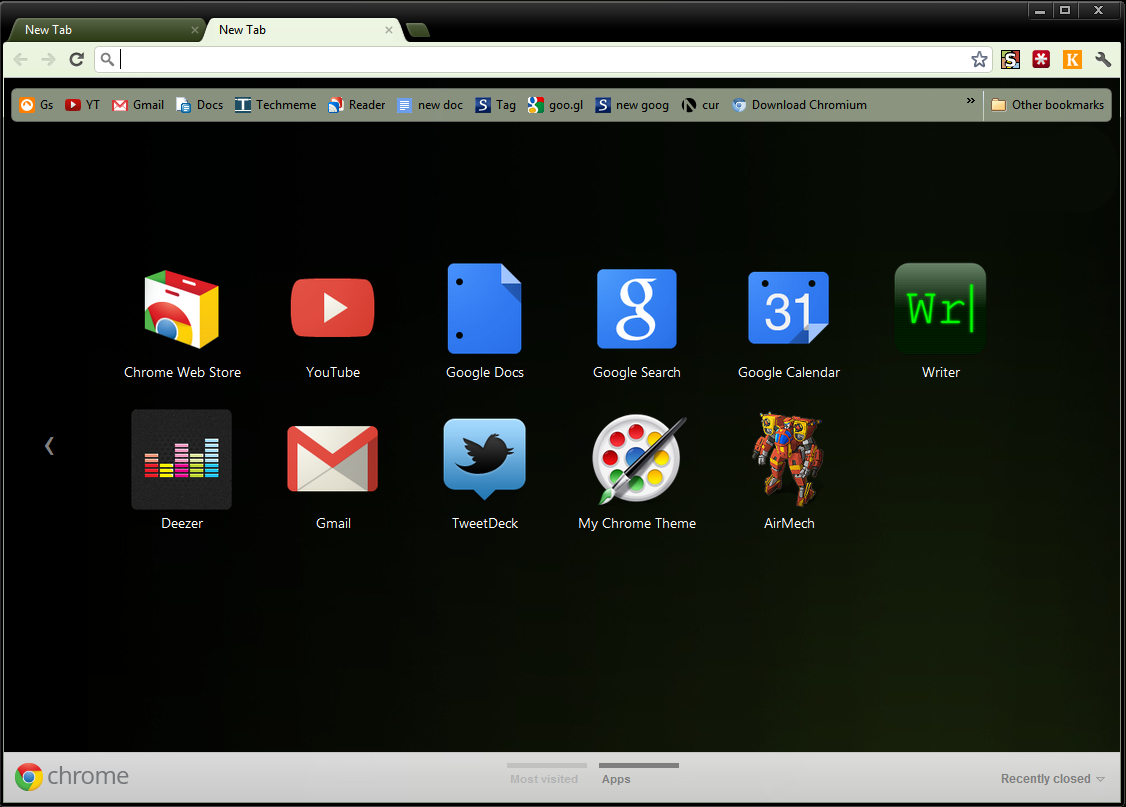 Google chrome themes gallery 2012 free download - Google Chrome Theme How To Create Theme