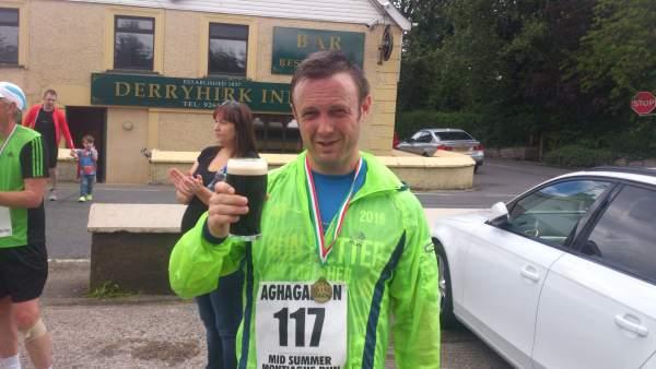 Aghagallon Mid Summer Montiaghs Run Pint