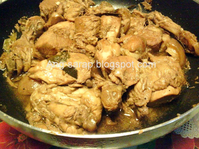 pork and chicken adobo