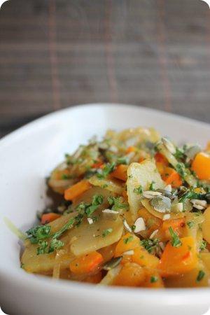 Kartoffel-Kürbis-Eintopf
