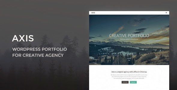 Axis WordPress Theme