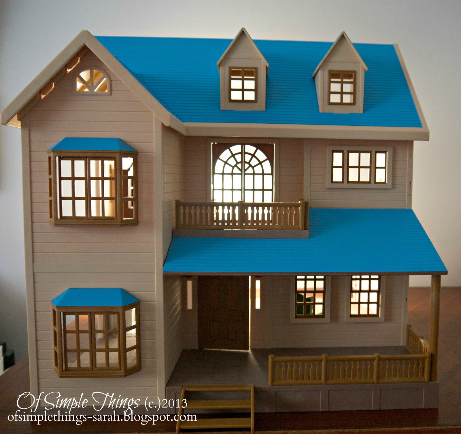 Of Simple Things: Dollhouse Decorating (Part 1