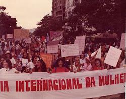 Primeira passeata feminista no Rio de Janeiro - 1983