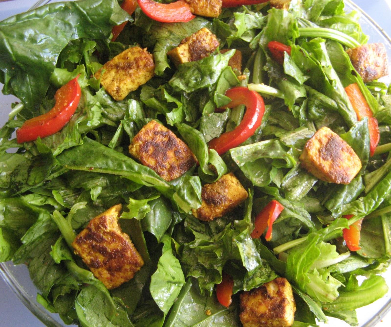 Chicken Tikka Salad Recipe — Dishmaps