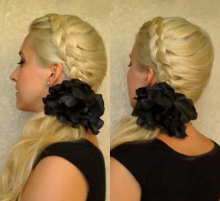 How to make Dutch Braid Hairstyle