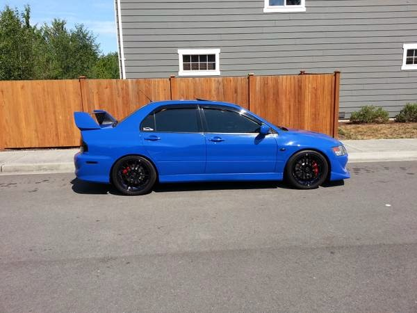 for sale 2003 mitsubishi lancer evolution 8 4x4 cars. Black Bedroom Furniture Sets. Home Design Ideas