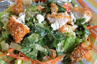 Buffalo Chopped Chicken Salad