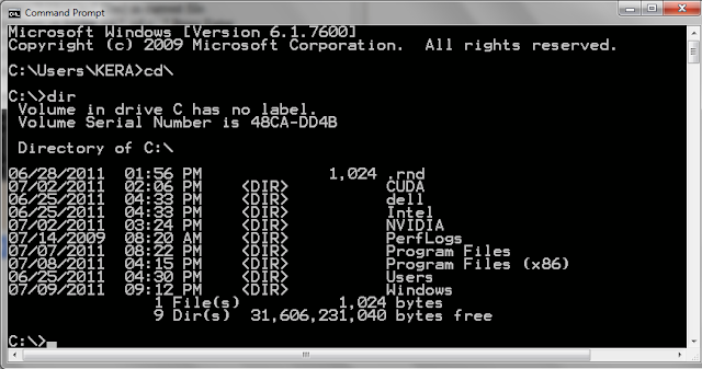 how to run cmd in mac