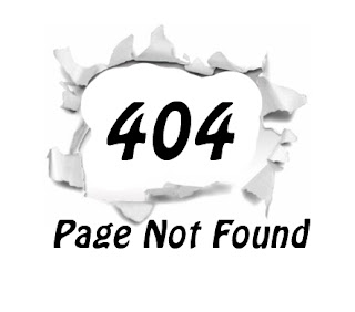 blogger custom 404 error page