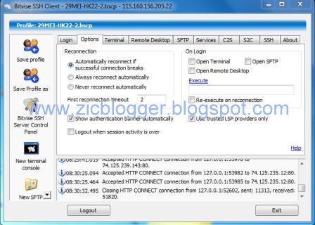 Download Bitvise SSH Client Tunnelier Terbaru 2013