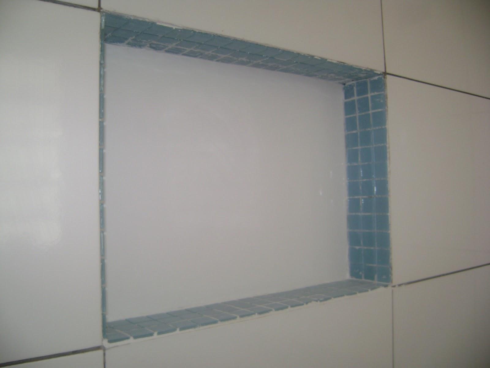 Travel and House Banheiro  Nicho -> Nicho Banheiro Cerâmica