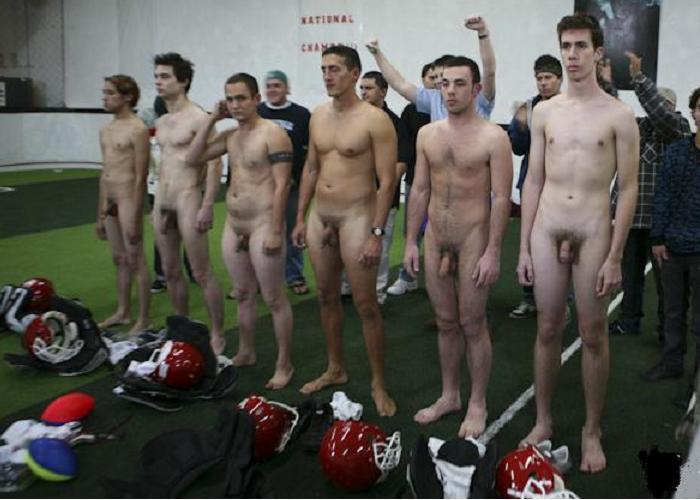 Nude american football players