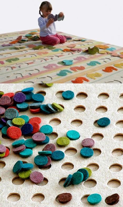Actividades escolares ideas para hacer con retazos de telas - Telas para alfombras ...