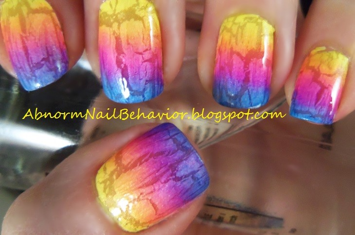 Cool School Nail Art Tall Is China Glaze Nail Polish Good Regular Salon Gel Nail Polish How To Remove Nail Polish Stains From Carpet Old Excilor Nail Fungus Treatment RedNail Polish Designs 2014 Abnorm Nail Behavior: Neon Crackle Nails