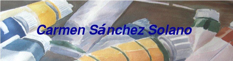 Carmen Sánchez SOLANO
