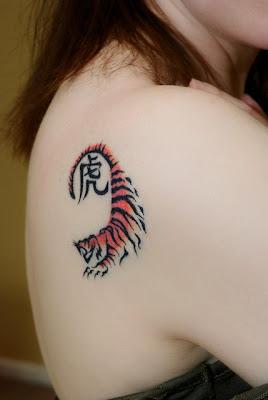 Tiger Tattoo Girls