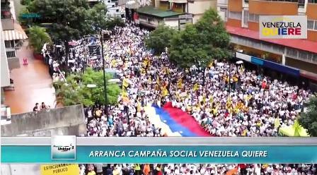 #VenezuelaQuiere ¡cambio!