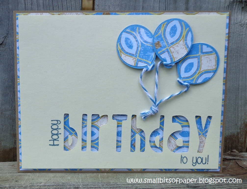 Small Bits Of Paper Birthday Cards