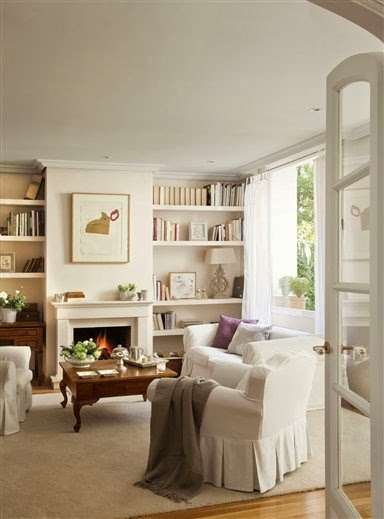 La maison 17 decoraci n interiorismo sal n i tama o y distribuci n - Distribucion de salones ...