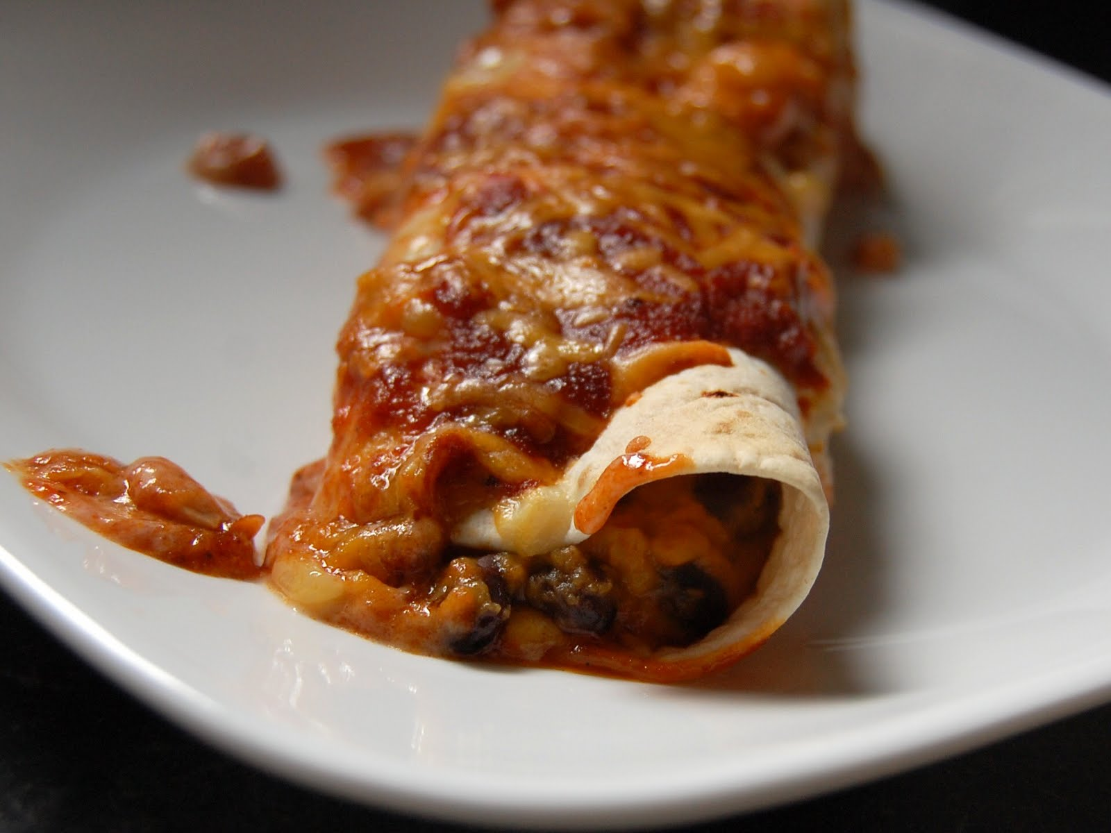 Cassie Craves: Sweet Potato and Black Bean Enchiladas