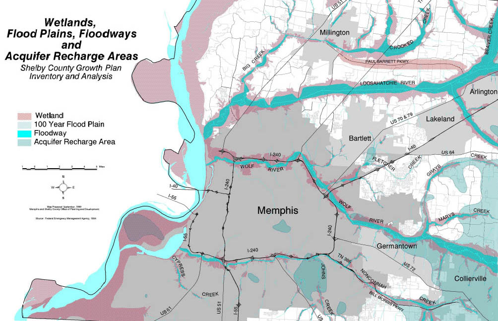 Friends For Our Riverfront Greenprint Plan A Map For The Future - Memphis tennessee on us map