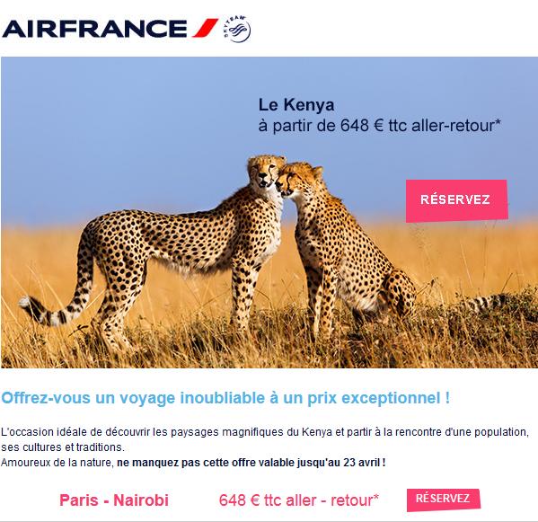 Air France Kenya
