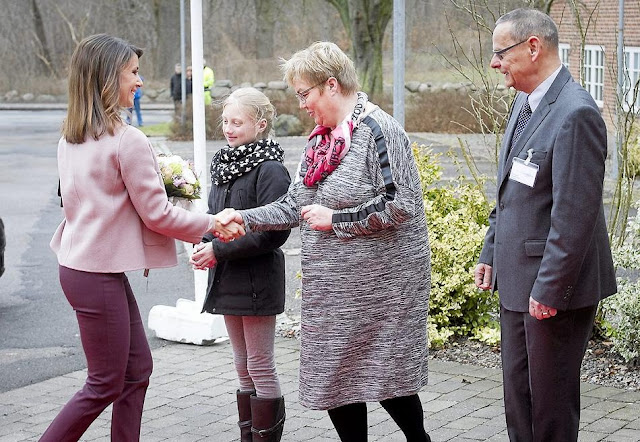 Princess Marie is a patron of the Danish Epilepsy Association and Kattegatcentret.