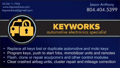 keyworks card