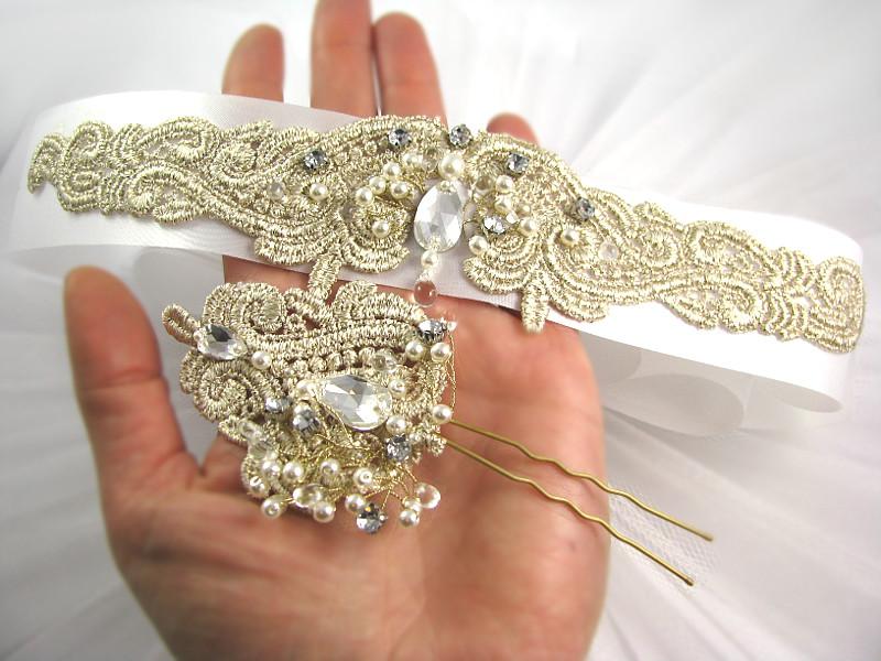 Koronki na suknię ślubną