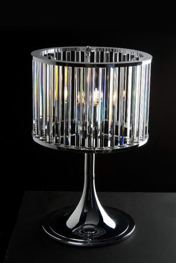 Halogen Lamp and Outdoor Lighting: Crystal Table Lamp