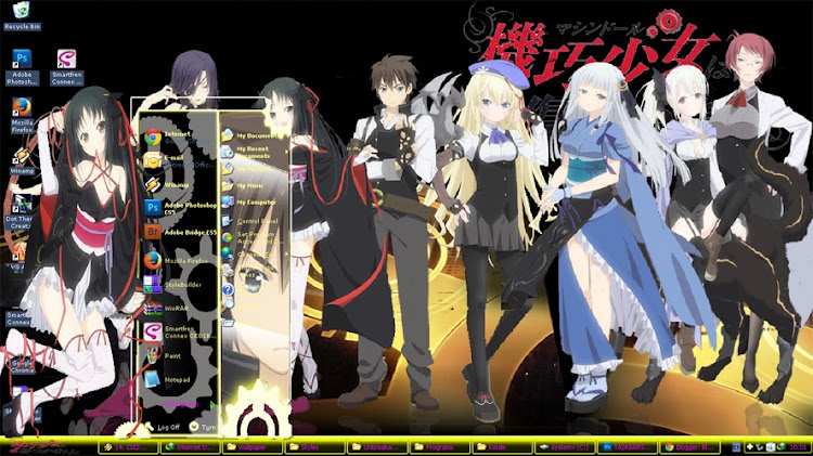 [ Theme Win Xp ] Unbreakable Machine Doll 1