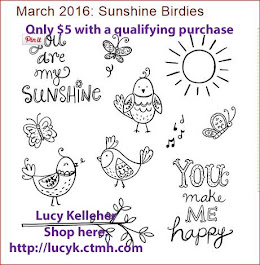 MARCH STAMP OF THE MONTH - Sunshine Birdies