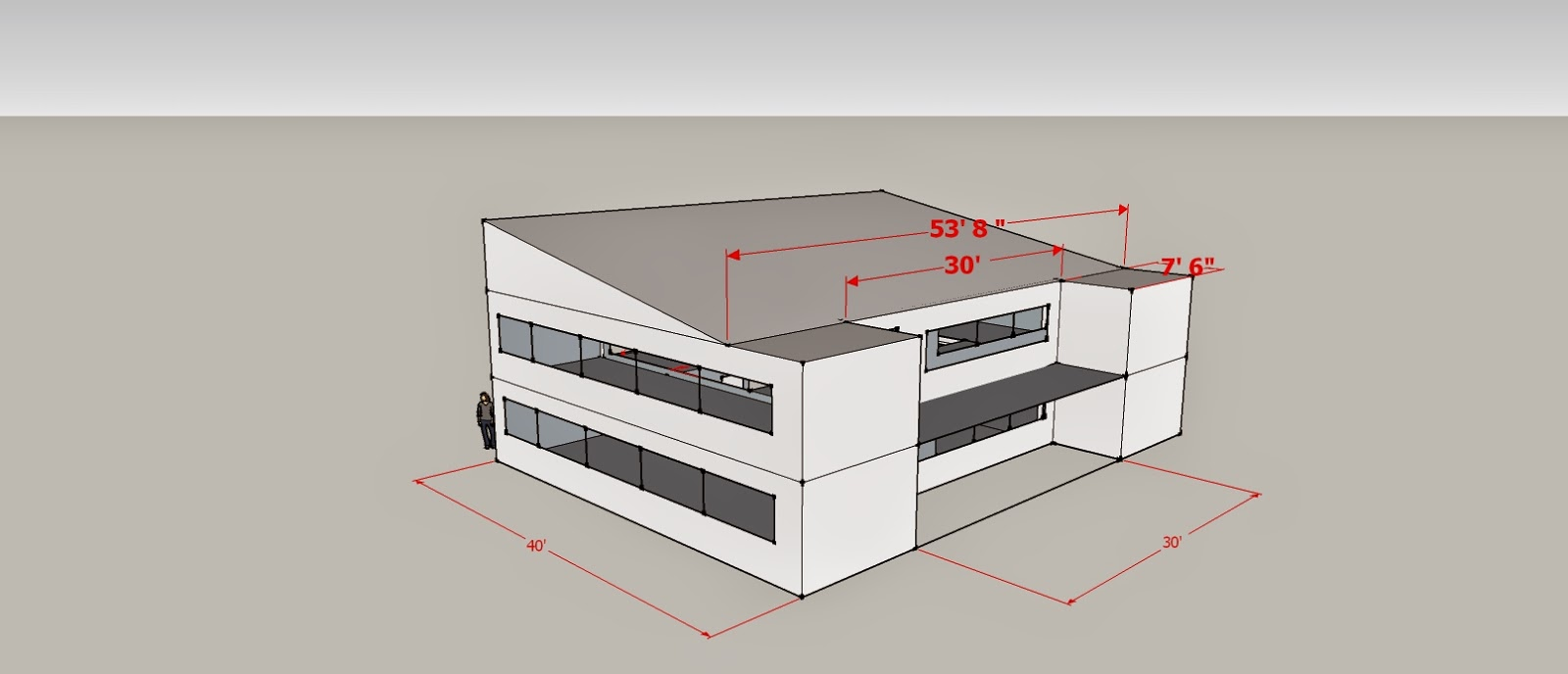 Design by Scotty Net Zero Container Home Layout