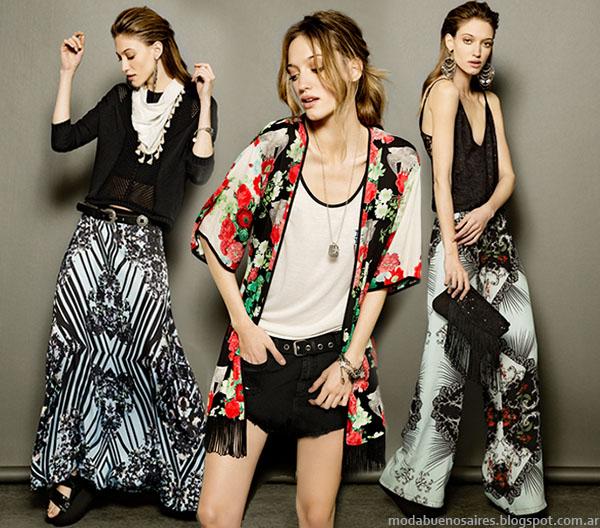 MODA 2015. Moda Argentina primavera verano 2015, looks colección Tucci 2015.
