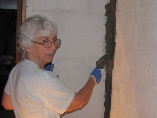 sealing cracks