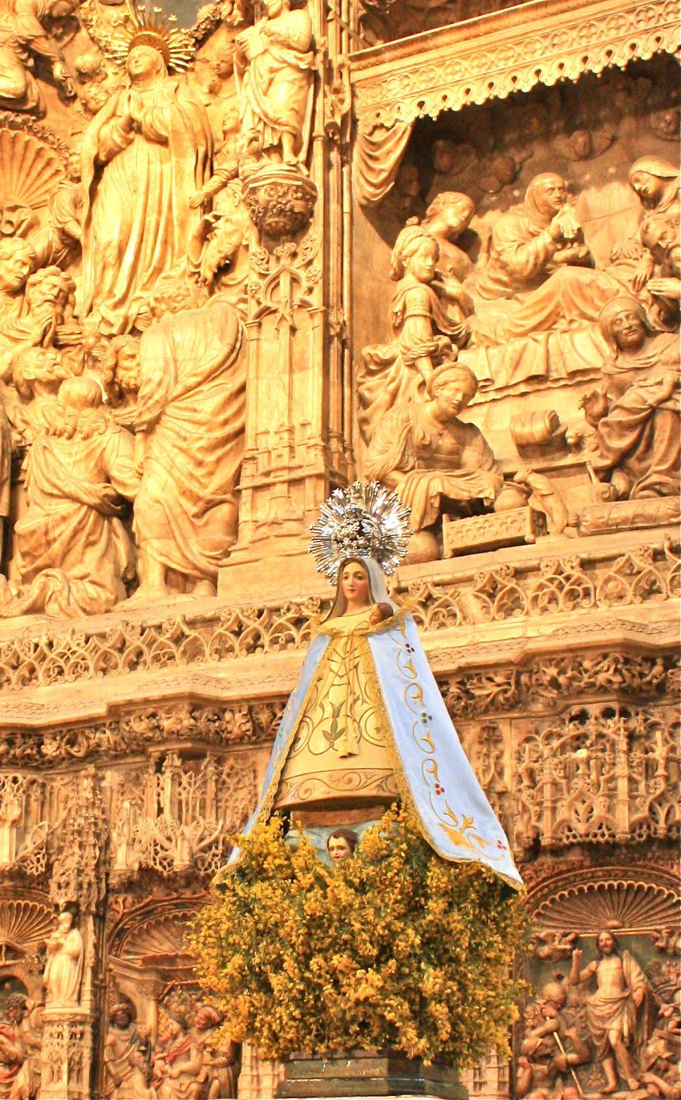 Video: Peregrinación de la Virgen de la Aliaga al Pilar 2015