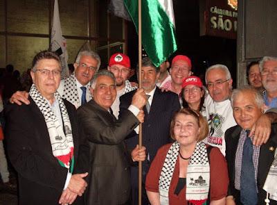 Ato histórico em São Paulo pelo Estado da Palestina Já - foto 34