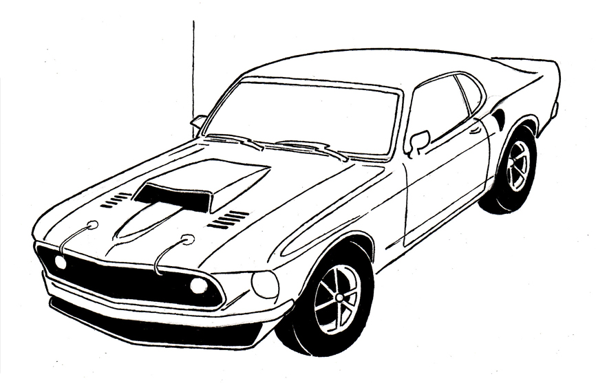 cars drawing tutorials list how to draw truck muscle and
