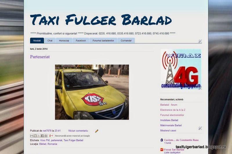 Taxi Fulger Barlad