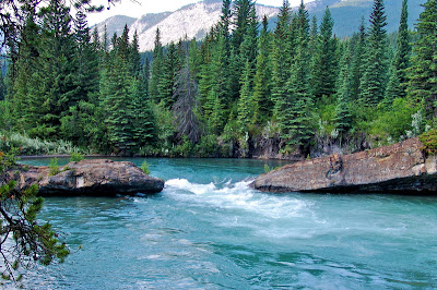 Beautiful Kananaskis River Canada