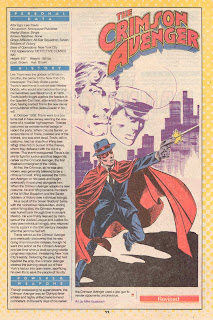 Crimson Avenger(ficha dc comics)