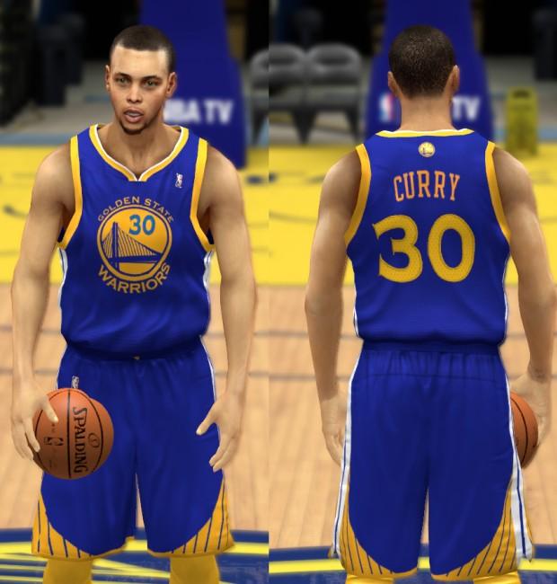 NBA 2K14 Golden State Warriors Jersey Mod Pack