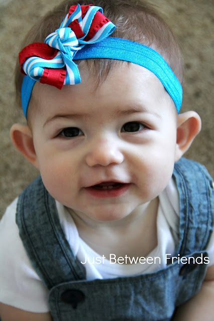 Patriotic Hair Bow Tutorial