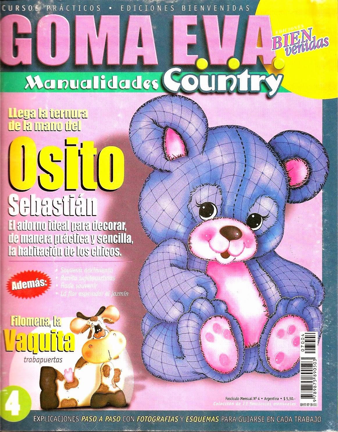 12 Revistas De Goma Eva Gratis Revistas De Manualidades Gratis - Como-trabajar-goma-eva