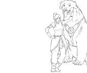 #11 Korra Coloring Page