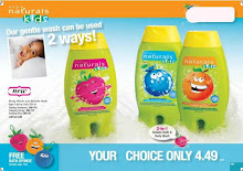 New Naturals Kids Bath Stuff.