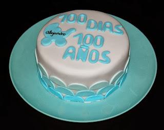 Tarta celebración 100 días