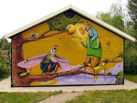 Art-Sci: Graffiti: Art or Vandalism?
