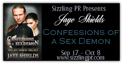 Blog Tour: Confessions of a Sex Demon by Jaye Shields & Giveaway