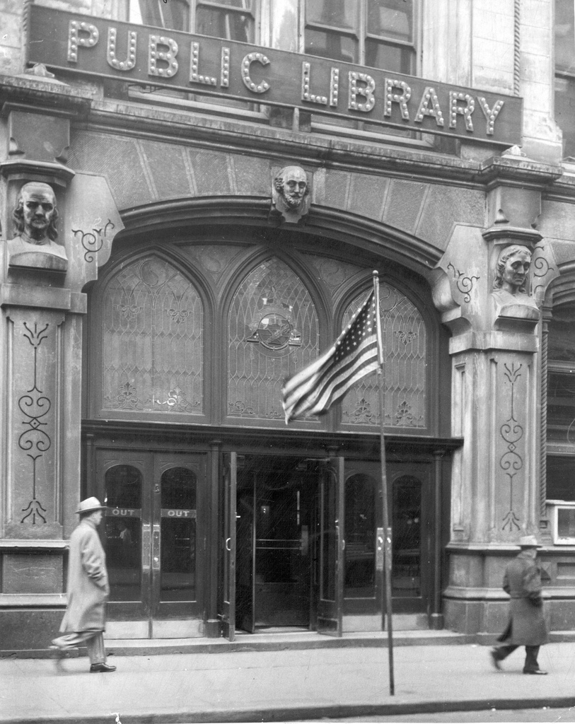 Moon to Moon The Old public Library of Cincinnati and